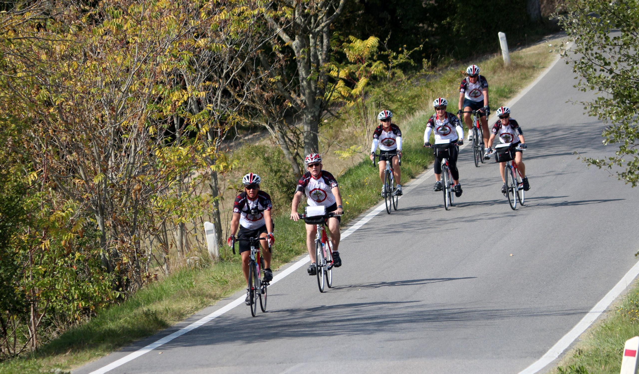 viaggi in bici toscana